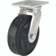 Shepherd Hardware 9493 6 Inch Rubber Wheel Swivel Plate Caster