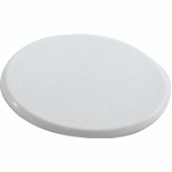 Shepherd Hardware 9551 Wall Guard Self Adhesive 3-1/4 Inch Round White Paintable Plastic