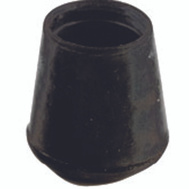 Shepherd Hardware 9758 1/2 Inch Black Rubber Leg Tips Bulk