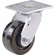 Shepherd Hardware 9774 6 Inch Phenolic Wheel Swivel Plate Caster