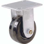 Shepherd Hardware 9775 6 Inch Phenolic Wheel Rigid Plate Caster