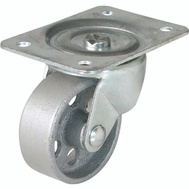 Shepherd Hardware 9782 4 Inch Cast Iron Swivel Wheel Plate Caster