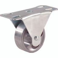 Shepherd Hardware 9783 4 Inch Cast Iron Rigid Wheel Plate Caster