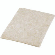 Shepherd Hardware 9950 Felt Gard 4-1/4 By 6 Inch Medium Duty Felt Blanket Pads Brown 2 Pack