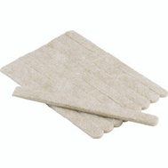 Shepherd Hardware 9954 Felt Gard 1/2 By 6 Inch Rectangular Strips Heavy Duty Felt Pads Beige 9 Pack