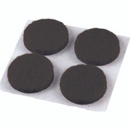 Shepherd Hardware 9959 Surface Gard 3/4 Inch Round Medium Duty Self Adhesive Felt Pads Brown 12 Pack