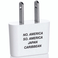 Travel Smart Conair NW3X/NW3C Adapter Plug N/S America