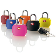 Travel Smart Conair TSR01X Brass Assorted Color Padlock