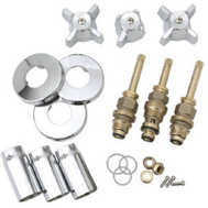 Brass Craft SK0336 Plumb Shop Sterling Chrome Tub And Shower Kit