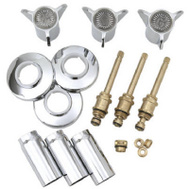 Brass Craft SK0305 Plumb Shop Sayco Chrome Tub And Shower Kit