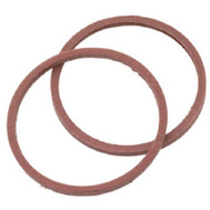 Brass Craft SCB0205 Plumb Shop Red Pressed Fiber Cap Thread Gasket 1.135 Inch By.935 Inch