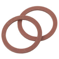 Brass Craft SCB0208 Plumb Shop Red Pressed Fiber Cap Thread Gasket 1.12 Inch By.88 Inch