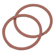 Brass Craft SCB0264 Plumb Shop Red Pressed Fiber Cap Thread Gasket 1.25 Inch By 1.07 Inch