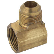Brass Craft PSSC-65 Plumb Shop 5/8 By 15/16 Inch Brass Female Elbow