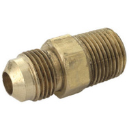 Brass Craft PSSL-14 Plumb Shop 3/8 Inch Gas Dryer Male Adapter