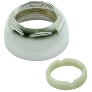 Brass Craft SLD0175 Plumb Shop Chrome Delta Cap And Ring