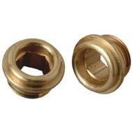 Brass Craft SCB0775X 10 Pack 1/2 Inch By 20 Threads Brass Seat American Standard