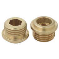 Brass Craft SCB0833X 10 Pack 7/16 Inch By 24 Threads Brass Seat American Standard