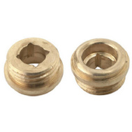 Brass Craft SCB1516X 10 Pack 1/2 Inch By 20 Threads Brass Seat For Sayco