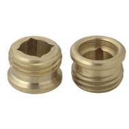 Brass Craft SC0751X 2 Pack 1/2 Inch By 20 Threads Faucet Seat American Standard