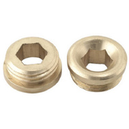 Brass Craft SC1871X 2 Pack 5/8 Inch By 18 Threads Faucet Seat Union Brass