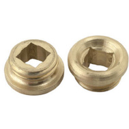 Brass Craft SC1874X 2 Pack 17/32 Inch By 18 Threads Faucet Seat Union Brass