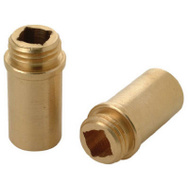 Brass Craft SC1877X 2 Pack 1/2 Inch By 18 Threads Bibb Seat Union Brass