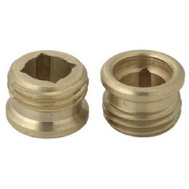 Brass Craft SCB0751X 10 Pack 1/2 Inch By 20 Threads Brass Seat American Standard