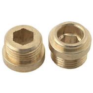 Brass Craft SCB0888X 10 Pack 1/2 Inch By 24 Threads Brass Seat For Briggs