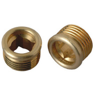 Brass Craft SCB1769X 10 Pack 1/2 Inch By 24 Threads Brass Seat Streamway