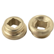 Brass Craft SCB1874X 10 Pack 17/32 Inch By 18 Threads Brass Seat Union Brass