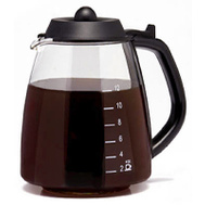 Medelco GL312BK 12 Cup Millenium Replacement Carafe