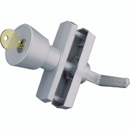 Hampton Wright VK670 Keyed Knob Latch-Aluminum 3/4- 3 Inch