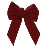 Holiday Trims 7822 5 Loop BURG Bow