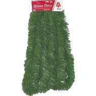Holiday Trims 3394075 Garland Nat Green 4Inx18ft