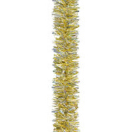 Holiday Trims 3490481 Garland Gold/Snow/Laser 15Ft