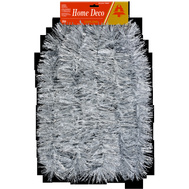 Holiday Trims 3493013 Silver/Snow 4Inx12ft