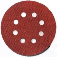 Porter Cable 735802205 5 Inch 8 Hole Hook And Loop Aluminum Oxide 220 Grit Very Fine 5 Pack