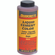 Quikrete 1317-03 Red Cement Color