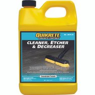 Quikrete 8675-34 Cleaner Concrete Degreaser Etcher
