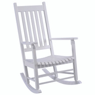 Seasonal Trends KN 28W Rocker Mission Box Frame White
