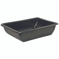 Maccourt AT2606 26 By 20 By 6 Inch 9 Gallon Plastic Utility Tub