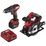 Skil CB742701 Drvr/Drill&Circ Saw Kit 12v