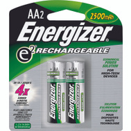 Energizer NH15BP-2 Nickel Metal Aa Battery Card Of 2