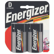 Energizer E95BP-2 2 Pack D Alkaline Battery