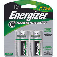 Energizer NH35BP-2 C Rechargeable Nimh Battery