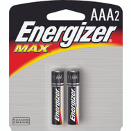 Energizer E92BP-2 Alkaline Aaa Battery Pack Of 2