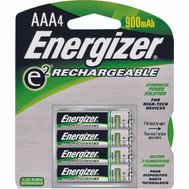 Energizer NH12BP-4 4 Pack Aaa Nimh Rechargeable Battery
