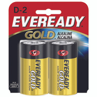 Energizer A95BP-2 Eveready Eveready Alkaline D Battery 2 Pack
