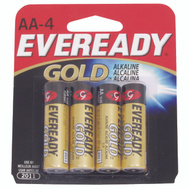 Energizer A91BP-4 Eveready Eveready Alkaline Aa 4 Pack